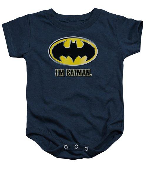 Batman - I'm Batman Baby Onesie