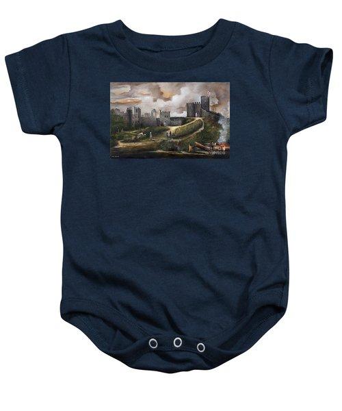 Dudley Castle 2 Baby Onesie