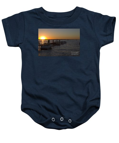 Okoboji Nights Baby Onesie