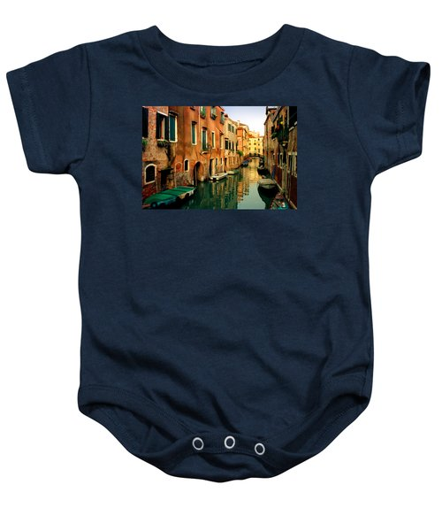 Reflections Of Venice Baby Onesie
