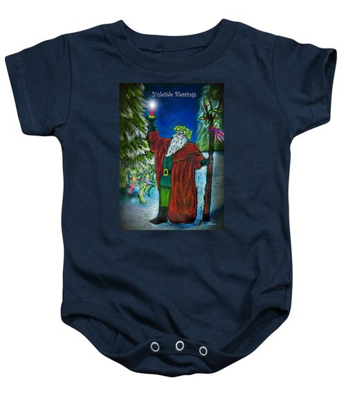 The Holly King Baby Onesie