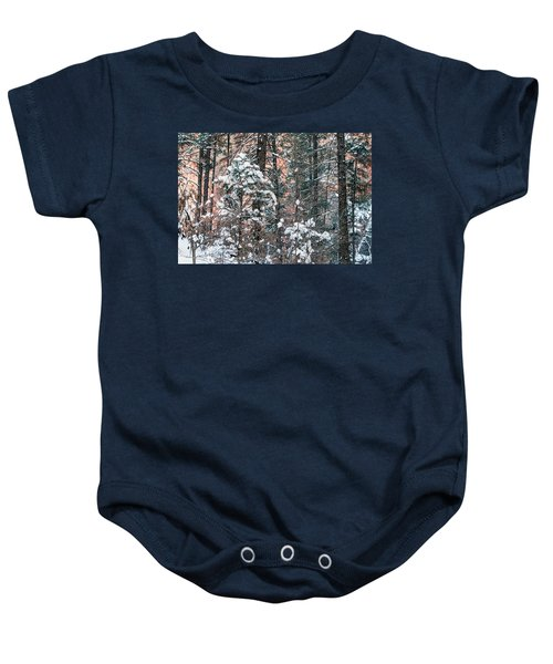West Fork Snow Baby Onesie
