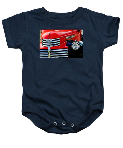 1942 Gmc  Pickup Truck Baby Onesie