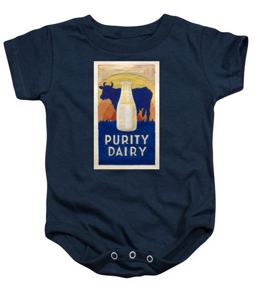 Purity Dairy Baby Onesie