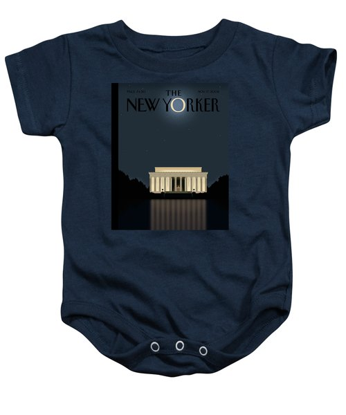 New Yorker November 17th, 2008 Baby Onesie
