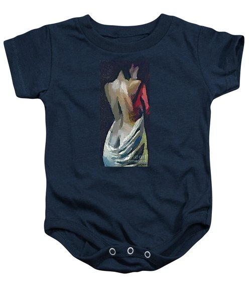 A Passionate Lady Baby Onesie