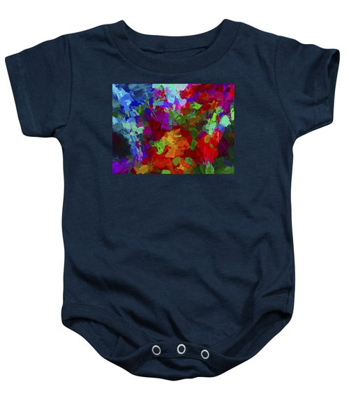 Abstract Artwork A1 Baby Onesie