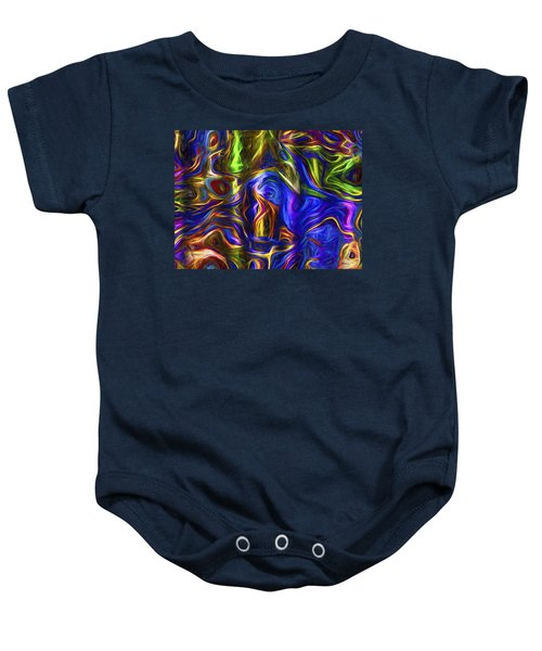 Abstract Artwork A3 Baby Onesie