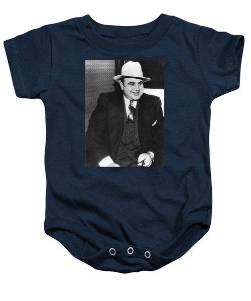 American Gangster Al Capone Baby Onesie
