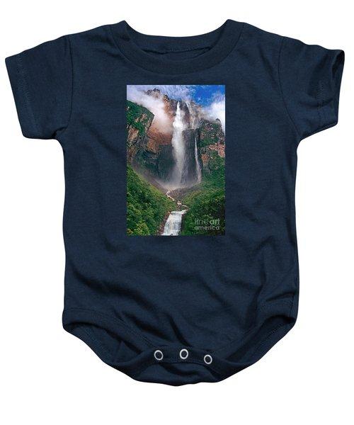 Angel Falls In Venezuela Baby Onesie