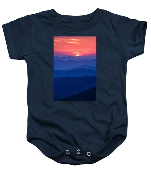 Another Day Ends Baby Onesie