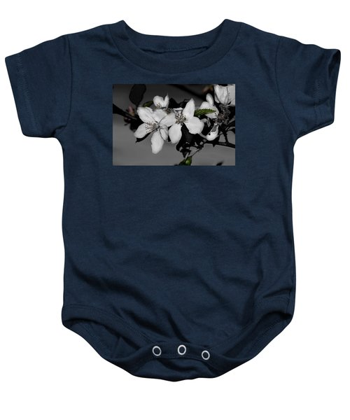 Apple Blossoms Baby Onesie