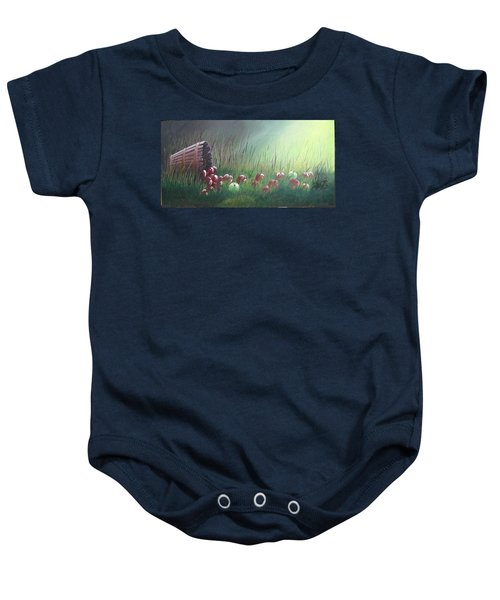 Apple Harvest Baby Onesie