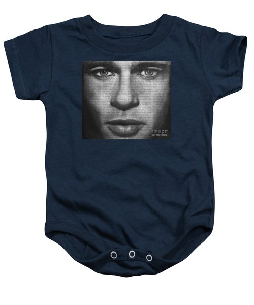 Art In The News 32- Brad Pitt Baby Onesie