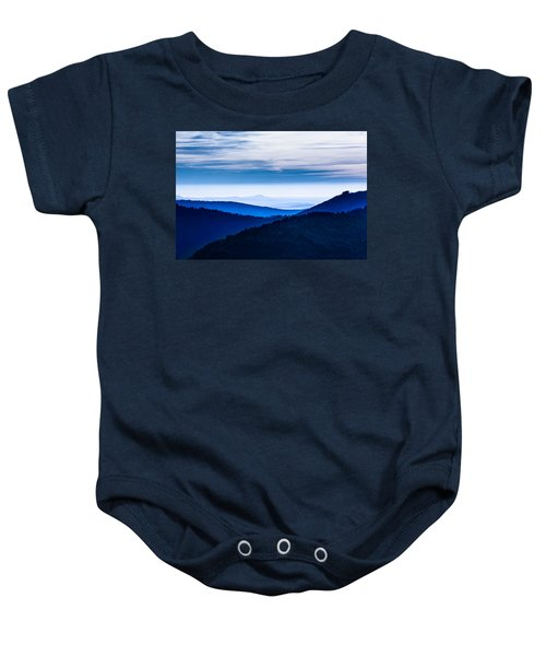 As Far As Our Eye Can See Baby Onesie