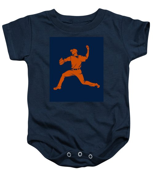 Astros Shadow Player1 Baby Onesie