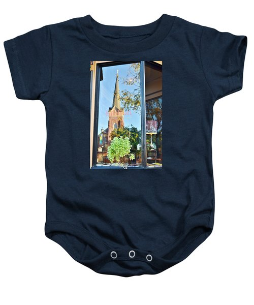 Biblion Used Books Reflections 3 - Lewes Delaware Baby Onesie