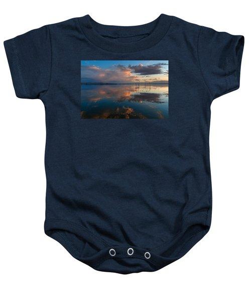 Blue Lagoon. Valencia Baby Onesie