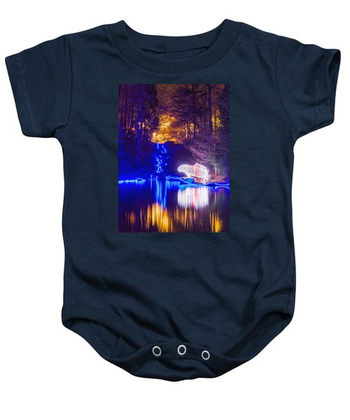 Blue River - Crop Baby Onesie