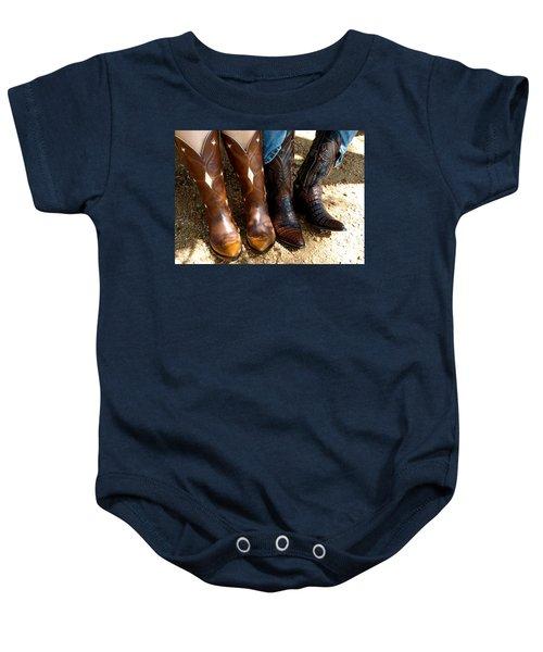 Boots Baby Onesie
