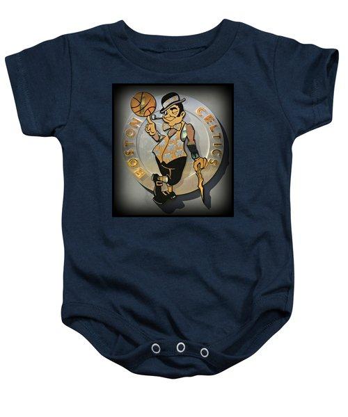 Boston Celtics Baby Onesie by Stephen Stookey