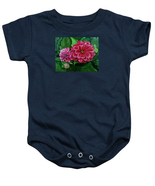 Buds And Blossoms Baby Onesie