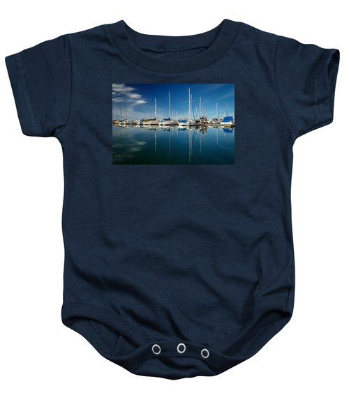Calm Masts Baby Onesie