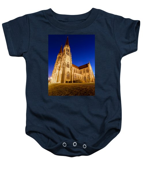 Morning At The Cathedral Of St Helena Baby Onesie
