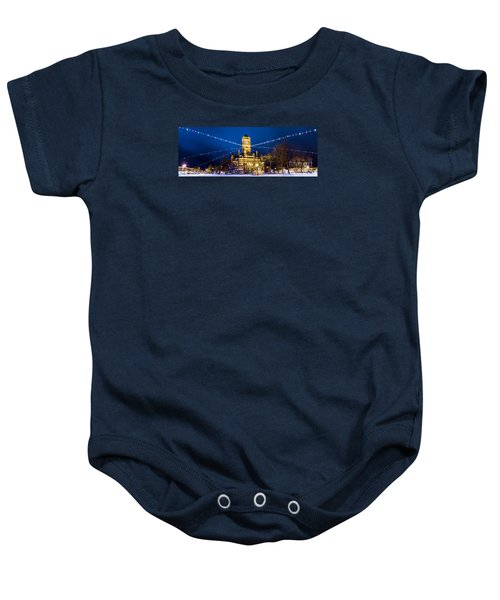 Christmas On The Square Baby Onesie