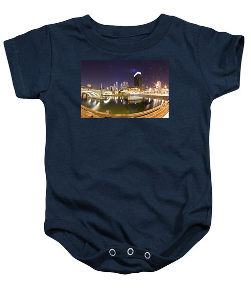 City's Reflection Baby Onesie