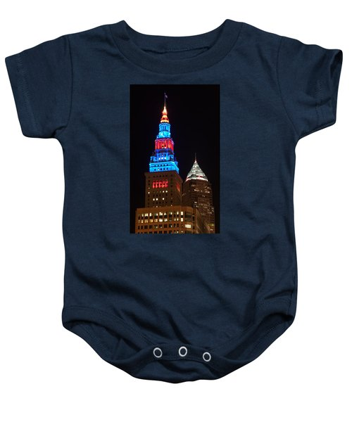 Cleveland Towers Baby Onesie