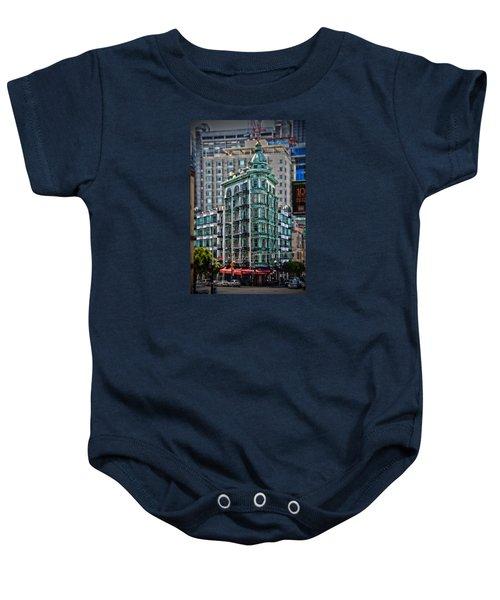 Columbus Tower In San Francisco Baby Onesie
