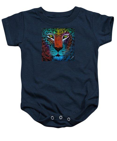 Content Leopard Baby Onesie
