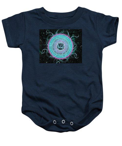 Cosmic Circle Baby Onesie