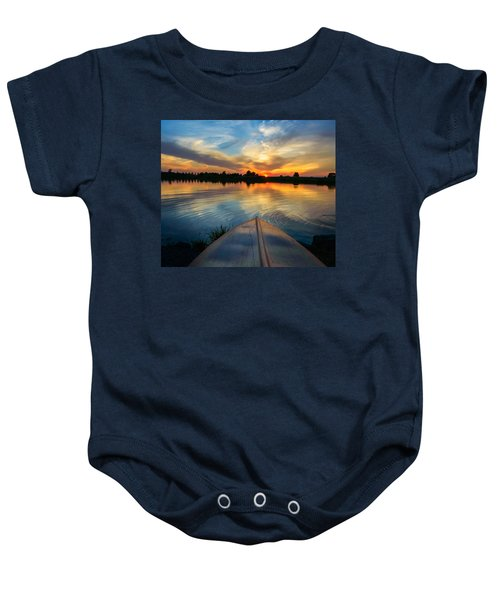 Cottage Country's Silhouette Baby Onesie