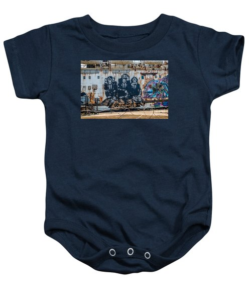 Council Of Monkeys 2 Baby Onesie