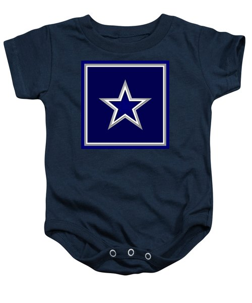 Dallas Cowboys Baby Onesie