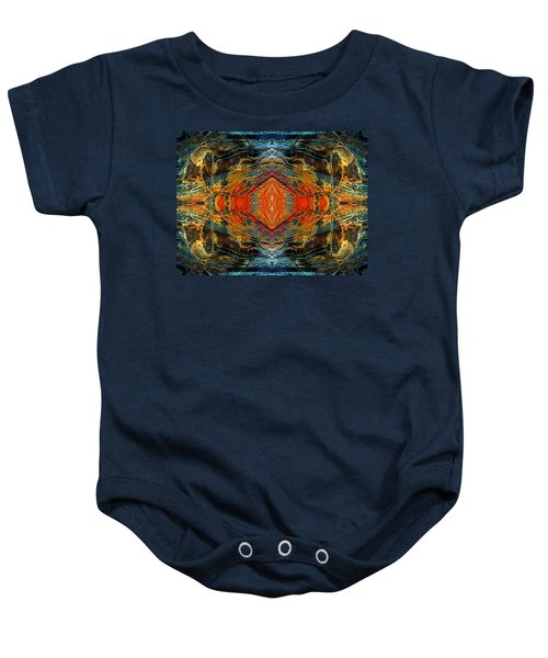 Decalcomaniac Intersection 2 Baby Onesie