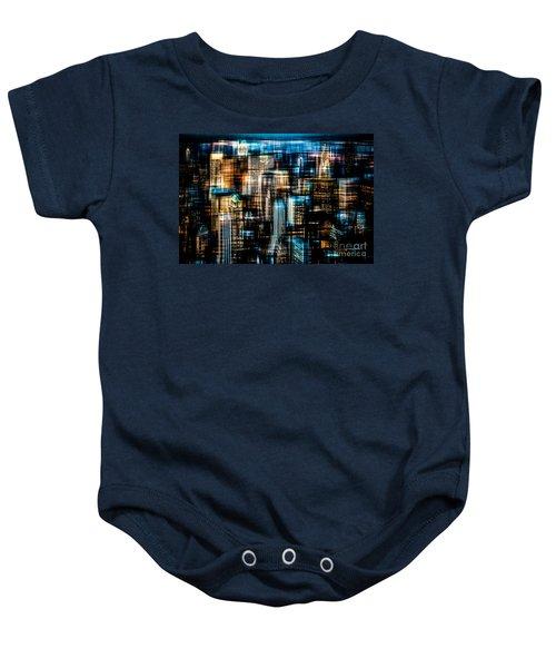 Downtown II - Dark Baby Onesie