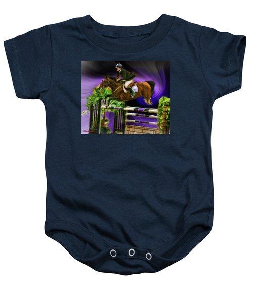 Duncan Mcfarlane On Horse Mr Whoopy Baby Onesie