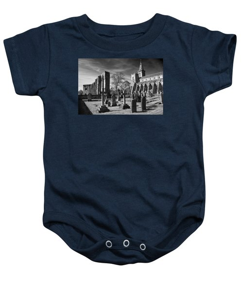 Dunfermline Palace And Abbey Baby Onesie