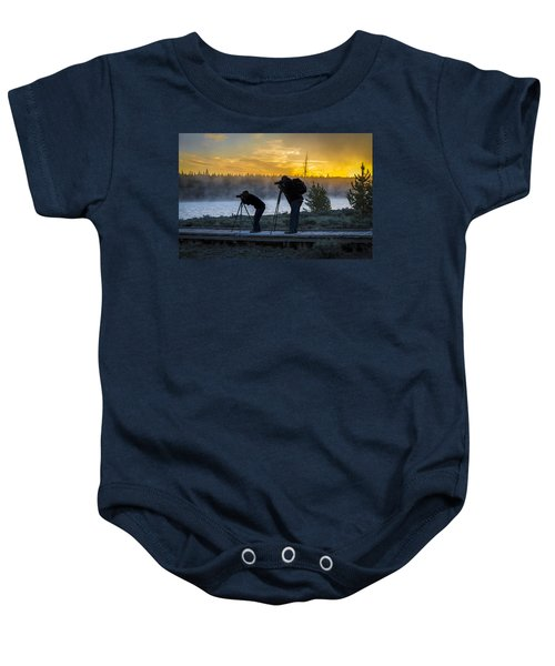 Early Birds Yellowstone National Park Baby Onesie