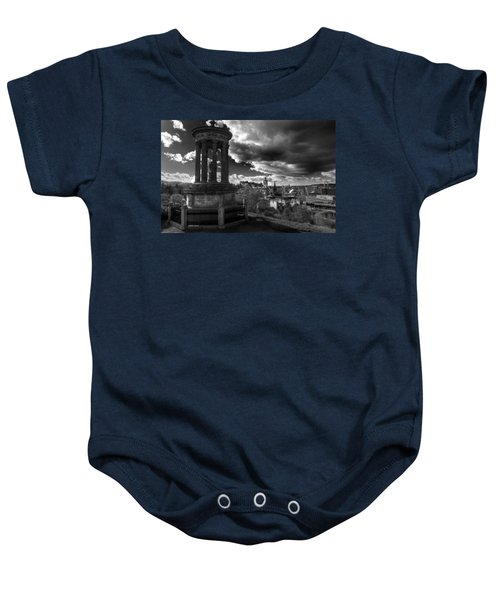 Edinburgh From Calton Hill Baby Onesie