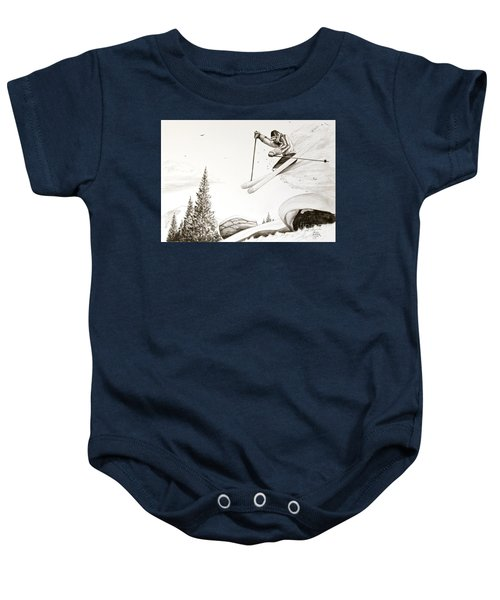 Exhilaration Baby Onesie