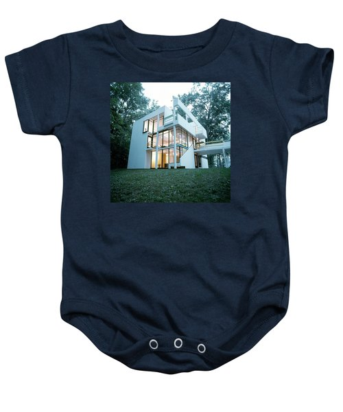 Exterior Of Mr. And Mrs. Jay Hanslemann's Baby Onesie