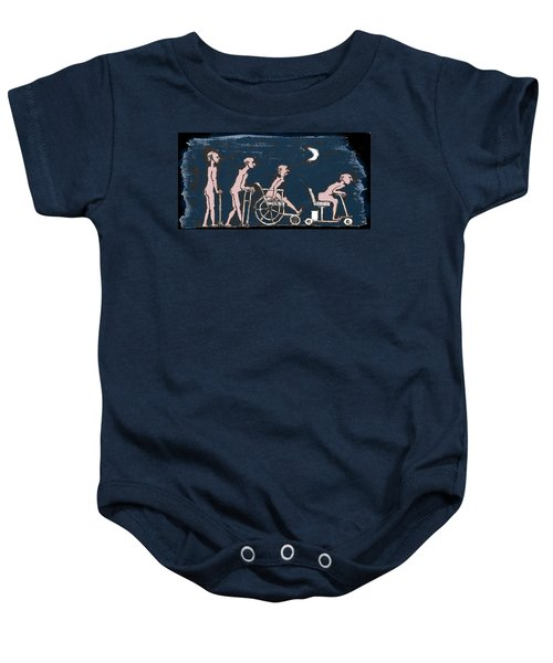Feral Coots On A Prowl Baby Onesie