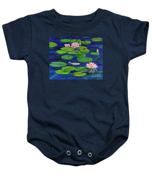 Tranquil Pond Baby Onesie