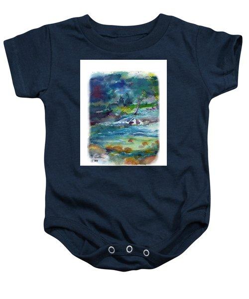 Fishin' Hole 2 Baby Onesie