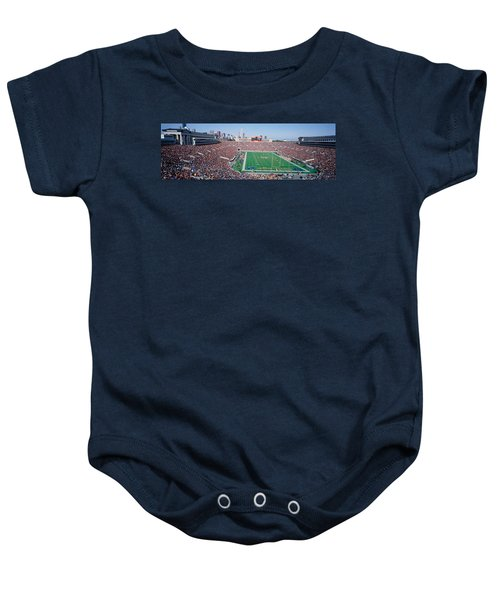 Football, Soldier Field, Chicago Baby Onesie by Panoramic Images