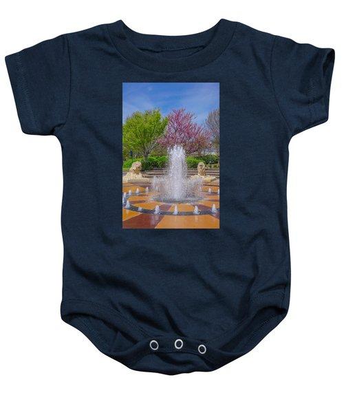 Fountain In Coolidge Park Baby Onesie
